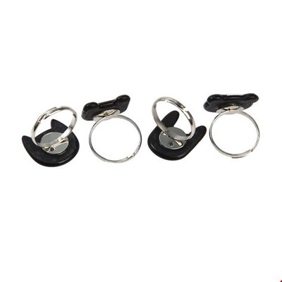 Rex London Set of 4 rings Miko and Friends