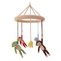 Sindibaba Mobile Monkey / mit Rassel