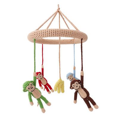 Sindibaba Mobile. Monkey / with rattle