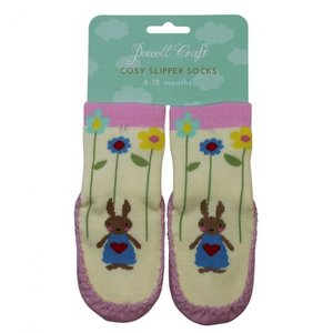 Powell Craft Moccasin Slipper Rabbit 1/2 years