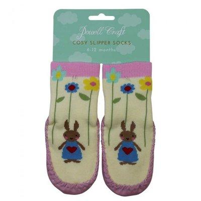 Powell Craft Moccasin Slipper Rabbit 1/2 years