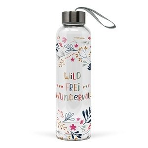 Paperproducts Design Glass bottle Wild, Frei Wundervoll
