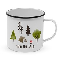 Paperproducts Design Enamel Mug Into the Wild