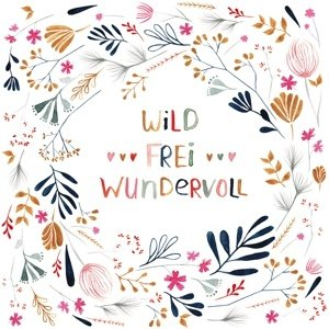 Paperproducts Design Paper Napkins Wild, Frei, Wundervoll