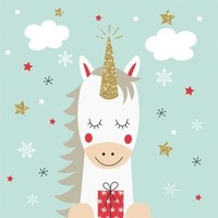 Paperproducts Design Papierservietten Dreaming Unicorn