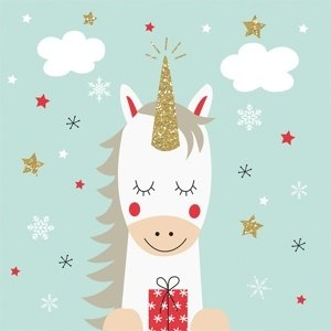 Paperproducts Design Paper Napkins Dreaming Unicorn