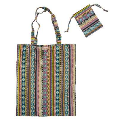 Sass & Belle Foldable shopper Cotton Vintage