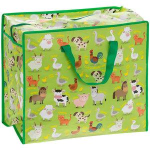Lesser & Pavey Jumbo bag Farm Animals