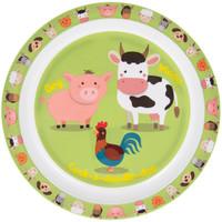 Lesser & Pavey Melamine plate Farmyard
