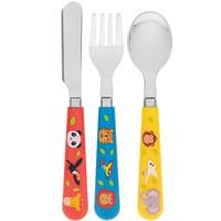 Lesser & Pavey Children's cutlery Zoo