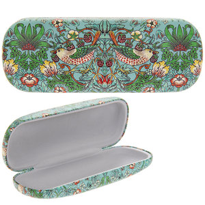 Lesser & Pavey Glasses Case Strawberry Thief teal