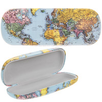 Lesser & Pavey Glasses Case World Traveller