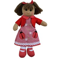 Powell Craft Stoffpuppe Ladybird