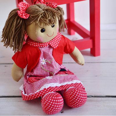 Powell Craft Stoffpuppe Ladybird