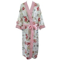 Powell Craft Dressing gown Rose Floral
