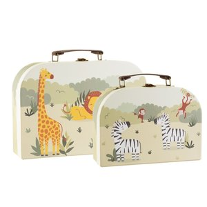 Sass & Belle Köfferchen Savannah Safari Set of 2