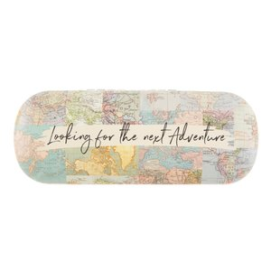 Sass & Belle Glasses Case Vintage Map Collage