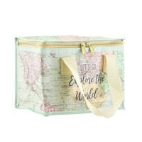 Sass & Belle Lunch bag World Explorer