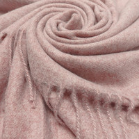 M&K Collection Schal Cashmere Mix Dusty Pink
