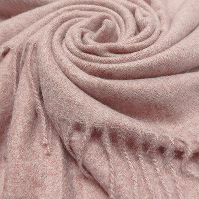 M&K Collection Scarf Cashmere Mix dusty pink