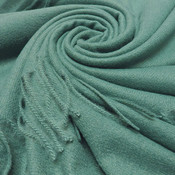 M&K Collection Schal Cashmere Mix teal