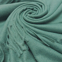 M&K Collection Scarf Cashmere Mix teal