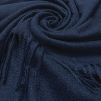 M&K Collection Scarf Cashmere Mix navy
