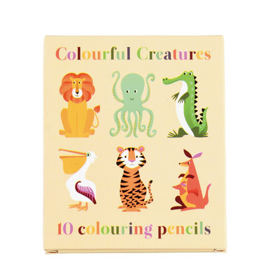 Rex London Coulour pencils Colourful Creatures Set of 10