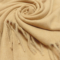 M&K Collection Scarf Cashmere Mix beige