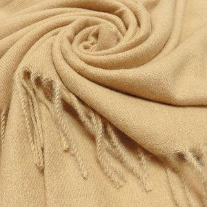 Pure & Cozy Schal Cashmere Mix beige