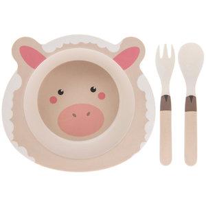 Lesser & Pavey Children's dinnerware set Bamboo Sheep