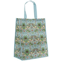 Lesser & Pavey Shopping bag Strawberry Thief teal