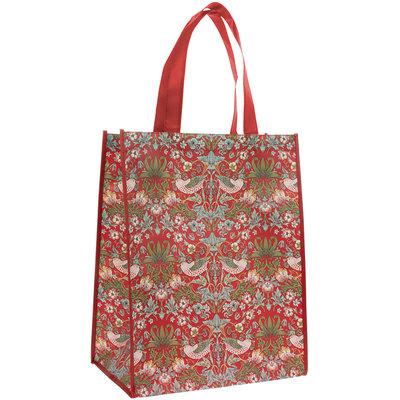 Lesser & Pavey Einkaufstasche Strawberry Thief red