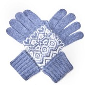 M&K Collection Handschuhe Ireland blue