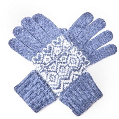 Pure & Cozy Handschuhe Ireland blue