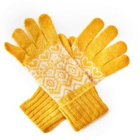 M&K Collection Handschuhe Ireland mustard