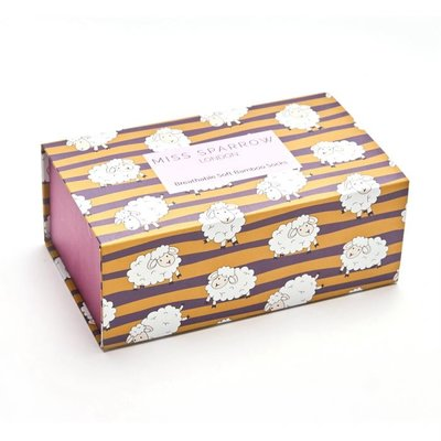 Miss Sparrow  Giftbox  sheep and stripes