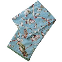 Powell Craft Schal Cotton Blue Blossom