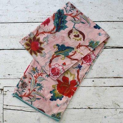 Powell Craft Schal Cotton Pink Floral