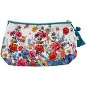 Powell Craft Wash Bag Floral Poppy