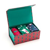 Miss Sparrow Giftbox Socken Bamboo  Christmas
