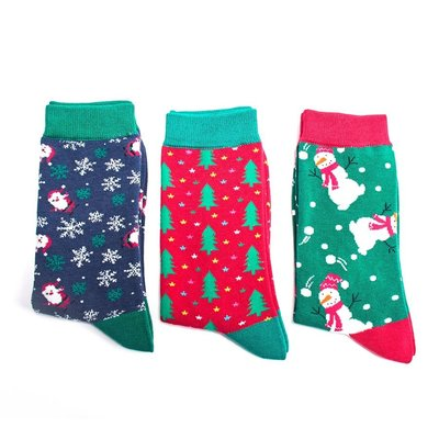 Miss Sparrow Giftbox Socks Bamboo  Christmas