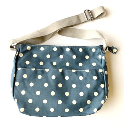 Blossify by Blossify Handtasche Carry-All Bag Happy Dots denim