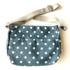 Blossify by Blossify Handbag Carry-All Bag Happy Dots denim