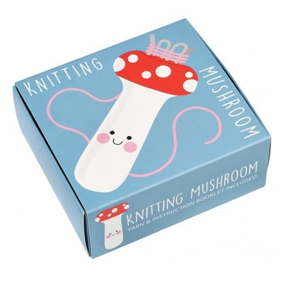 Rex London Knitting Mushroom