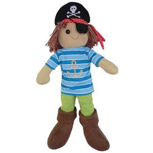 Powell Craft Rag Doll Pirate