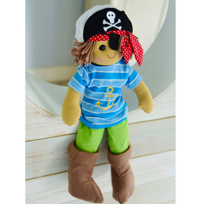 Powell Craft Rag Doll Pirate