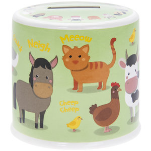 Lesser & Pavey Money box Farmyard