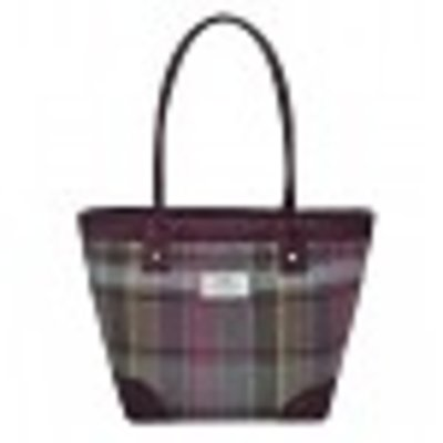 Earth Squared Tote Bag Tweed Heather