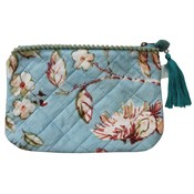Powell Craft Make-up Bag Blue Blossom
